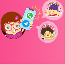 The Thoughtful Bunch Stickers Pack! Now available on WhatsApp and Telegram!