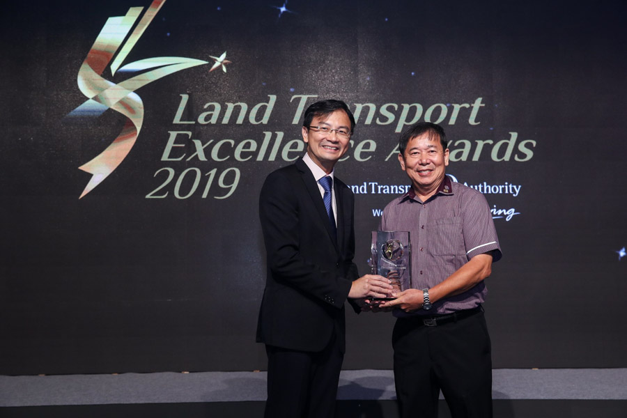 Mr Goh Soon Huat, Chief Bus Captain