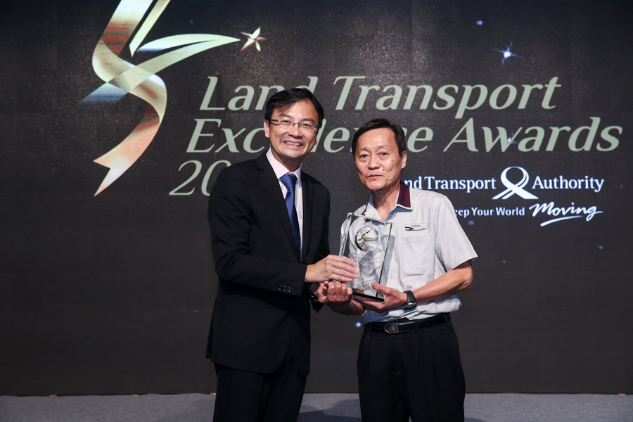 Mr Lee Teh Huat, Interchange Supervisor