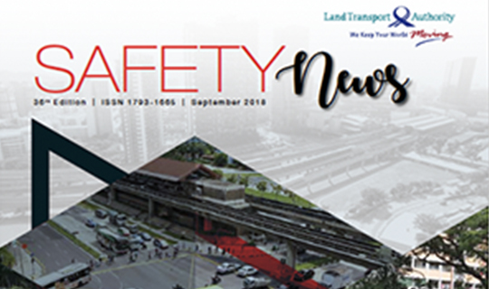 A cover of Safety News