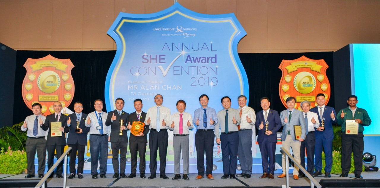 Winners of the Annual Safety Award Covention 2018
